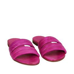 Zapatillas de cuero fucsia, Primadonna, 177204903PEFUCS035, 002a