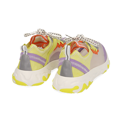 Dad shoes lilas en simili-cuir, Chaussures, 159319161EPLILL, 004 preview