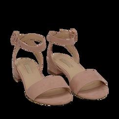 CALZATURA FLAT MICROFIBRA NUDE, Zapatos, 154819193MFNUDE037, 002a