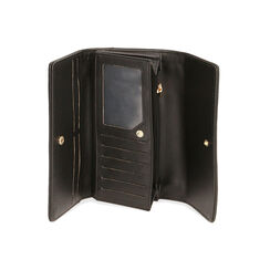 Portafogli nero, Primadonna, 185103840EPNEROUNI, 003 preview