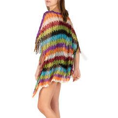 Poncho multicolor retinato, Primadonna, 15B402916TSMULTUNI, 002a