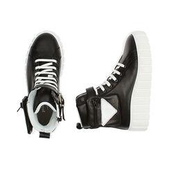 Sneakers nere in pelle, Primadonna, 17L645608PENERO035, 003 preview