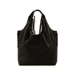 Maxi-bag nera, Borse, 155702557EPNEROUNI, 001 preview