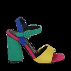 CALZATURA SANDALO MICROFIBRA GIAL, Chaussures, 152133411MFGIAL037, 001a