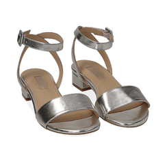 WOMEN SHOES FLAT LAMINATED ARGE, Chaussures, 154819193LMARGE036, 002 preview