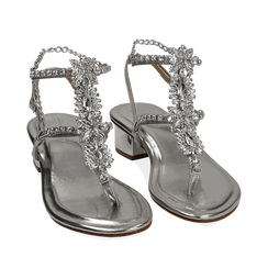 WOMEN SHOES SANDAL LAMINATED ARGE, Chaussures, 154927101LMARGE035, 002a