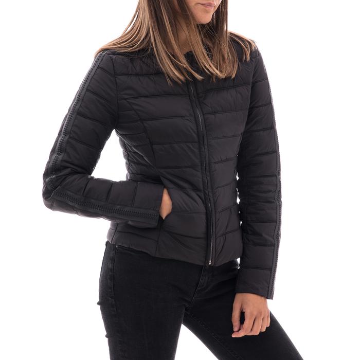 Piumino nero in nylon, Abbigliamento, 146511662NYNERO3XL