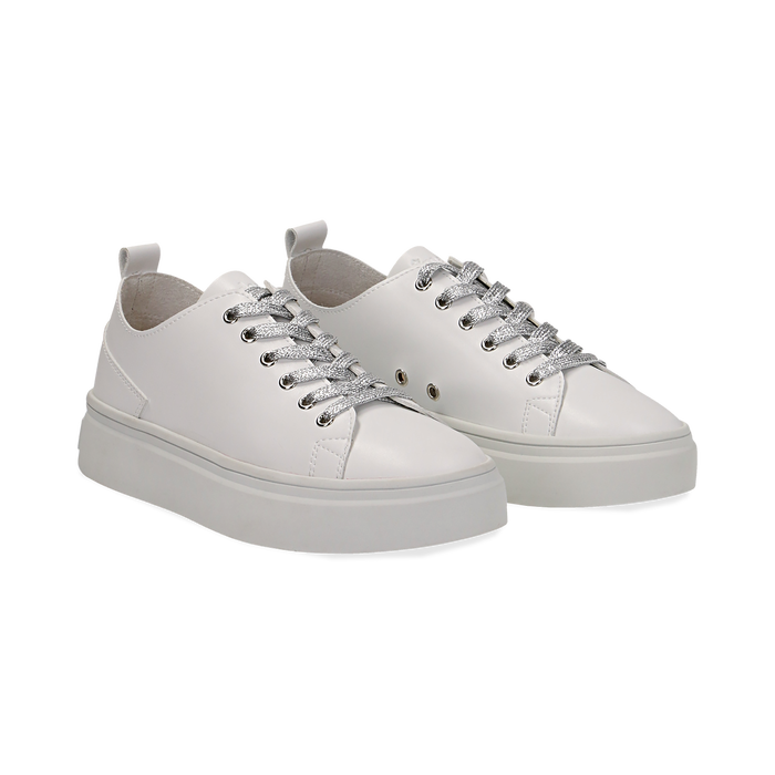 Da Sneakers Collection Bianche Primadonna Donna Estive ng8xwq1P