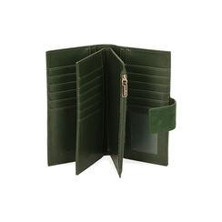 Portafogli verde in microfibra, Primadonna, 185122158MFVERDUNI, 003 preview