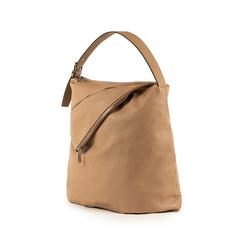 Maxi-bag beige in eco-pelle, Primadonna, 151990171EPBEIGUNI, 004 preview