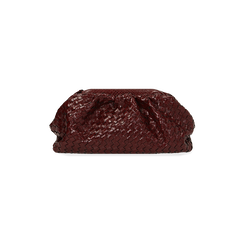 Maxi clutch bordeaux intrecciata, IDEE REGALO, 165122668EIBORDUNI, 003 preview