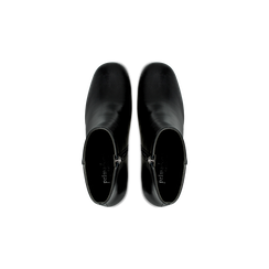 Tronchetti neri, tacco 7,5 cm, Scarpe, 122182021EPNERO040, 004 preview