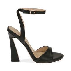 Sandali neri, tacco 11,5 cm , Primadonna, 172195211EPNERO036, 001a