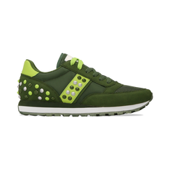 Sneakers verdi color block, Primadonna, 122618834MFVERD035, 001 preview