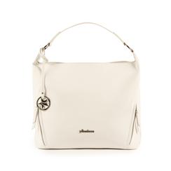 Maxi-bag de ecopiel en color blanco, Bolsos, 153783218EPBIANUNI, 001 preview