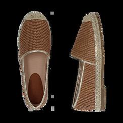 Espadrillas cuoio in rafia, Zapatos, 154902099RFCUOI036, 003 preview