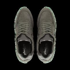 Sneakers grigie con zeppa platform, Primadonna, 122808661MFGRIG, 004 preview