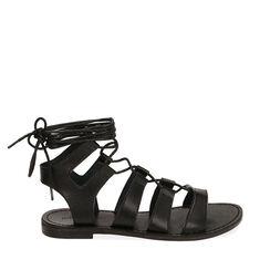 Sandalias gladiador negro, 175248103EPNERO037, 001a