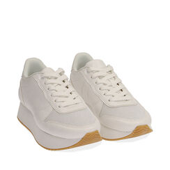 Sneakers bianche, Primadonna, 177519501EPBIAN035, 002a