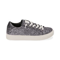 Sneakers argento glitter, Primadonna, 162600308GLARGE038, 001 preview