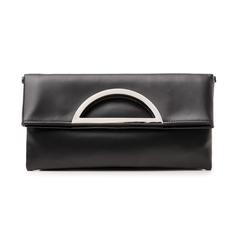 Pochette estensibile nera in eco-pelle, Primadonna, 145108714EPNEROUNI, 001 preview