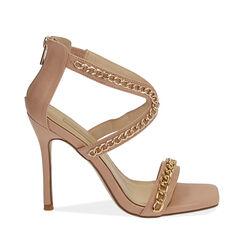Sandales nude, talon 11 cm, Primadonna, 172114217EPNUDE037, 001a
