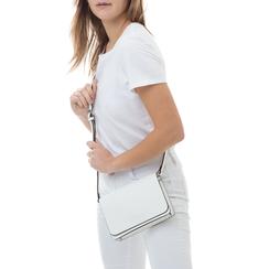 Pochette bianca in eco-pelle, Borse, 133764037EPBIANUNI, 002 preview