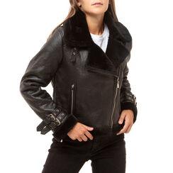 Aviator jacket nera, Primadonna, 166565001EPNEROM, 001a