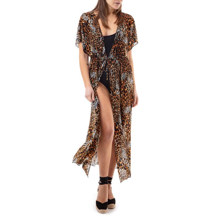 Copricostume stampa leopard, Primadonna, 17L571051TSLEOPUNI