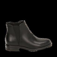 Botines Chelsea en color negro, tacón 4 cm , Primadonna, 160621678EPNERO037, 001a