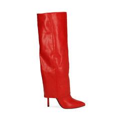 Bottes rouge, talon de 11 cm, Primadonna, 182146865EPROSS035, 001a