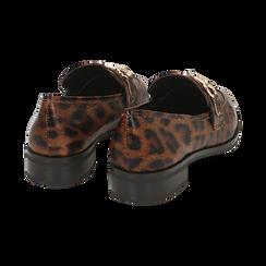 Mocasines con estampado de leopardo, Primadonna, 164964141EPLEMA037, 004 preview