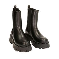 Chelsea boots noires, Primadonna, 180628902EPNERO035, 002a