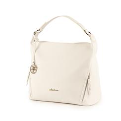 Maxi-bag de ecopiel en color blanco, Bolsos, 153783218EPBIANUNI, 004 preview