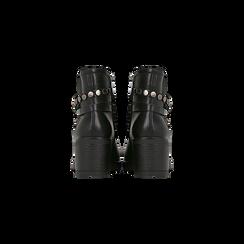 Stivaletti Chelsea neri con fascia elastica, Primadonna, 120618215EPNERO, 003 preview