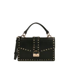 Bolso negro pequeño con tachuelas, Primadonna, 175122990EPNEROUNI, 001a