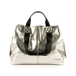 Maxi-sac argent laminé, Primadonna, 172392506LMARGEUNI, 003 preview