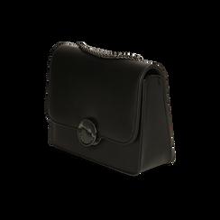 Borsa piccola nera , IDEE REGALO, 165108225EPNEROUNI, 002 preview