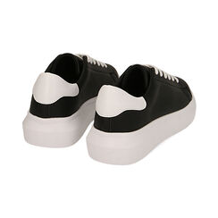 Sneakers nero/bianco , Scarpe, 172602009EPNEBI035, 004 preview