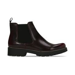 Chelsea Boots bordeaux, punta tonda, Scarpe, 120608573ABBORD, 001 preview