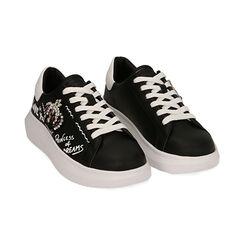Sneakers bianche con corona, Primadonna, 172621011EPNERO035, 002 preview