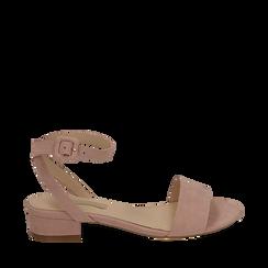 CALZATURA FLAT MICROFIBRA NUDE, Zapatos, 154819193MFNUDE037, 001a