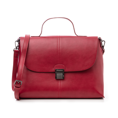 Borsa rossa in eco-pelle , Borse, 14D984150EPROSSUNI, 001 preview
