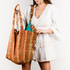 Bolso turquesa de tejido, Primadonna, 150500040TSTURCUNI, 002 preview