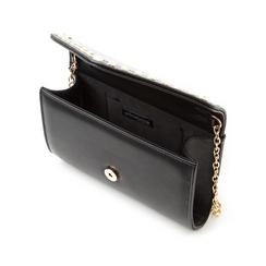 Borsa envelope con borchie nera in eco-pelle, Borse, 133386501EPNEROUNI, 004 preview
