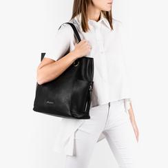 Maxi-bag negro, Bolsos, 153708276EPNEROUNI, 002a
