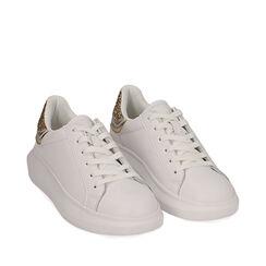 Baskets blanc / or, Primadonna, 172602011EPBIOR035, 002a