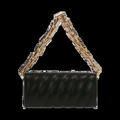 Tracollina nera matelassé, Borse, 165123377EPNEROUNI, 003 preview