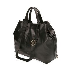 Maxi-bag nera, Primadonna, 172392506EPNEROUNI, 002a