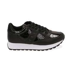 Sneakers nere in vernice, Primadonna, 162619079VENERO036, 001 preview